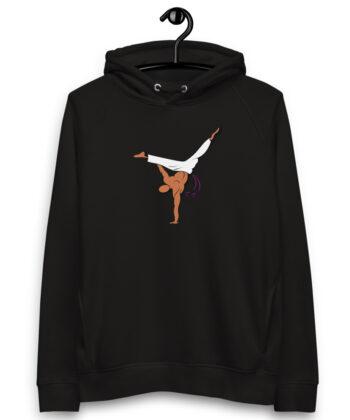 Pull à capuche Roda Capoeira - Noir, S - Sweat à capuche