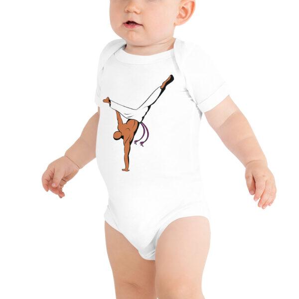 Body bébé Roda Capoeira - Blanc, 12 - 18 mois - Body bébé