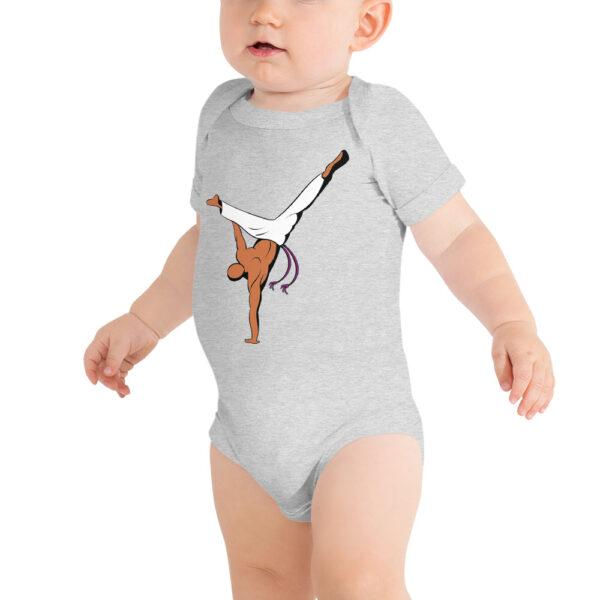 Body bébé Roda Capoeira - Gris Chiné, 12 - 18 mois - T-shirt
