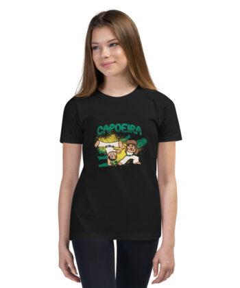 T-shirt Capoeira à Manches Courtes pour Adolescent - T-shirt