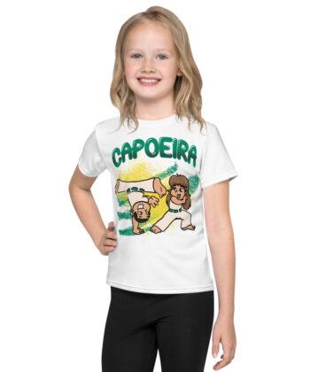 T-shirt Capoeira Blanc pour Enfant - T-shirt