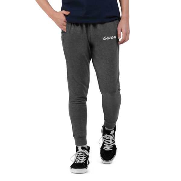 Pantalon de sport Homme skinny Ginga capoeira - Dark Grey Melange, S - T-shirt