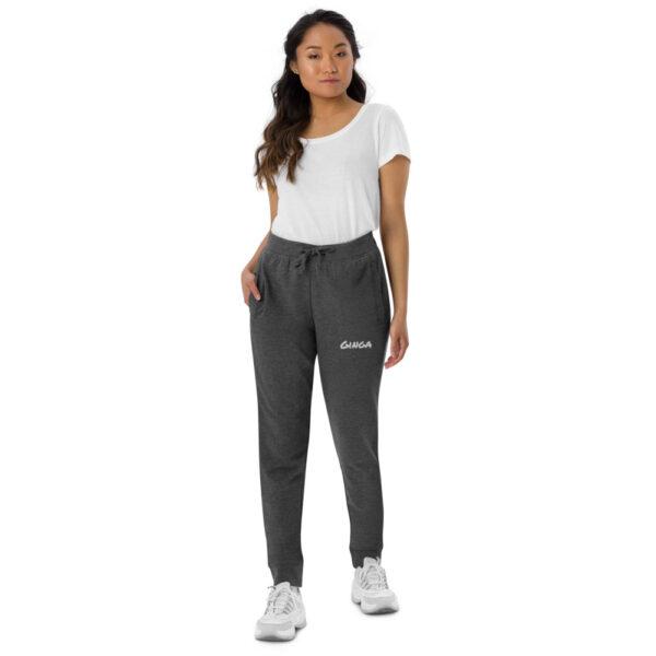 Pantalon de sport skinny Femme Ginga Capoeira - Dark Grey Melange, S - T-shirt