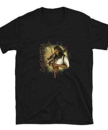 T-shirt Homme Berimbau Capoeira à Manches Courtes - T-shirt