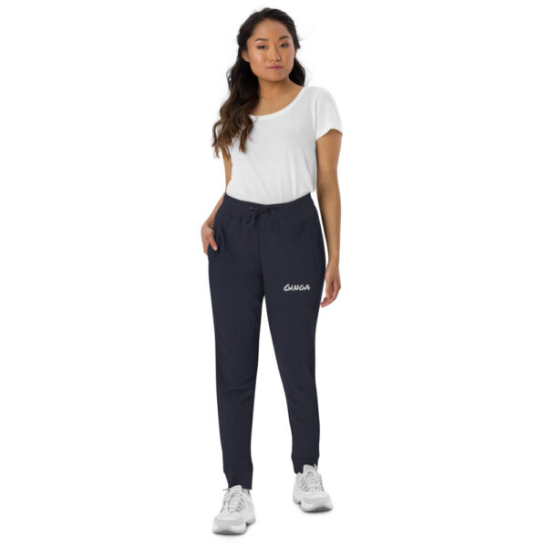 Pantalon de sport skinny Femme Ginga Capoeira - Bleu Marine, S - T-shirt