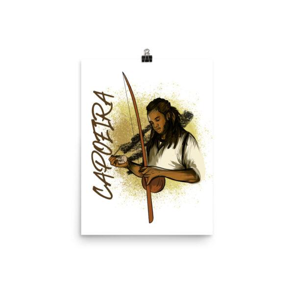Poster Mat Capoeira Berimbau - 12 × 16 - Rectangle