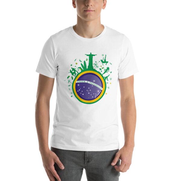 T-shirt Brésil et Capoeira pour homme - T-shirt