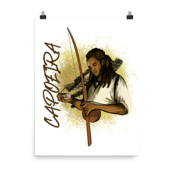 Poster Mat Capoeira Berimbau - Capoeira