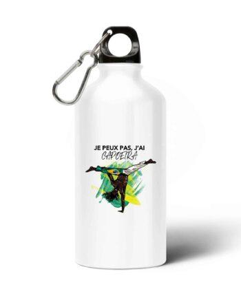 Gourde / Bouteille en aluminium - Je Peux Pas, J'ai Capoeira