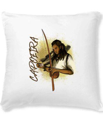 Housse de coussin seule - Capoeira berimbau