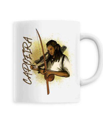 Mug céramique - Capoeira berimbau