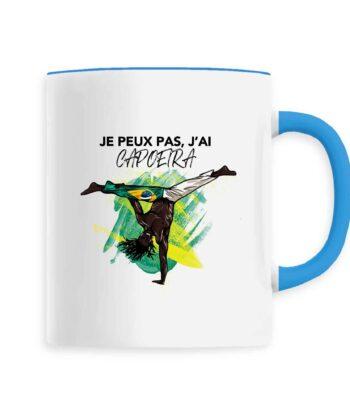 Mug céramique - Je Peux Pas, J'ai Capoeira