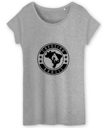 T-shirt Femme 100% Coton BIO - Capoeira Brazil