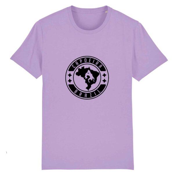 T-shirt homme - Coton BIO -Capoeira Brazil