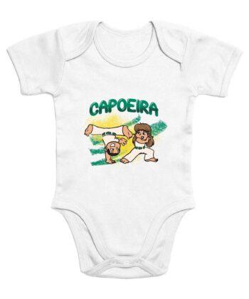 Bavoir 100% Coton Bio - Baby Capoeira