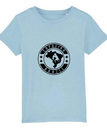 T-shirt Enfant - Coton bio - Capoeira Brazil
