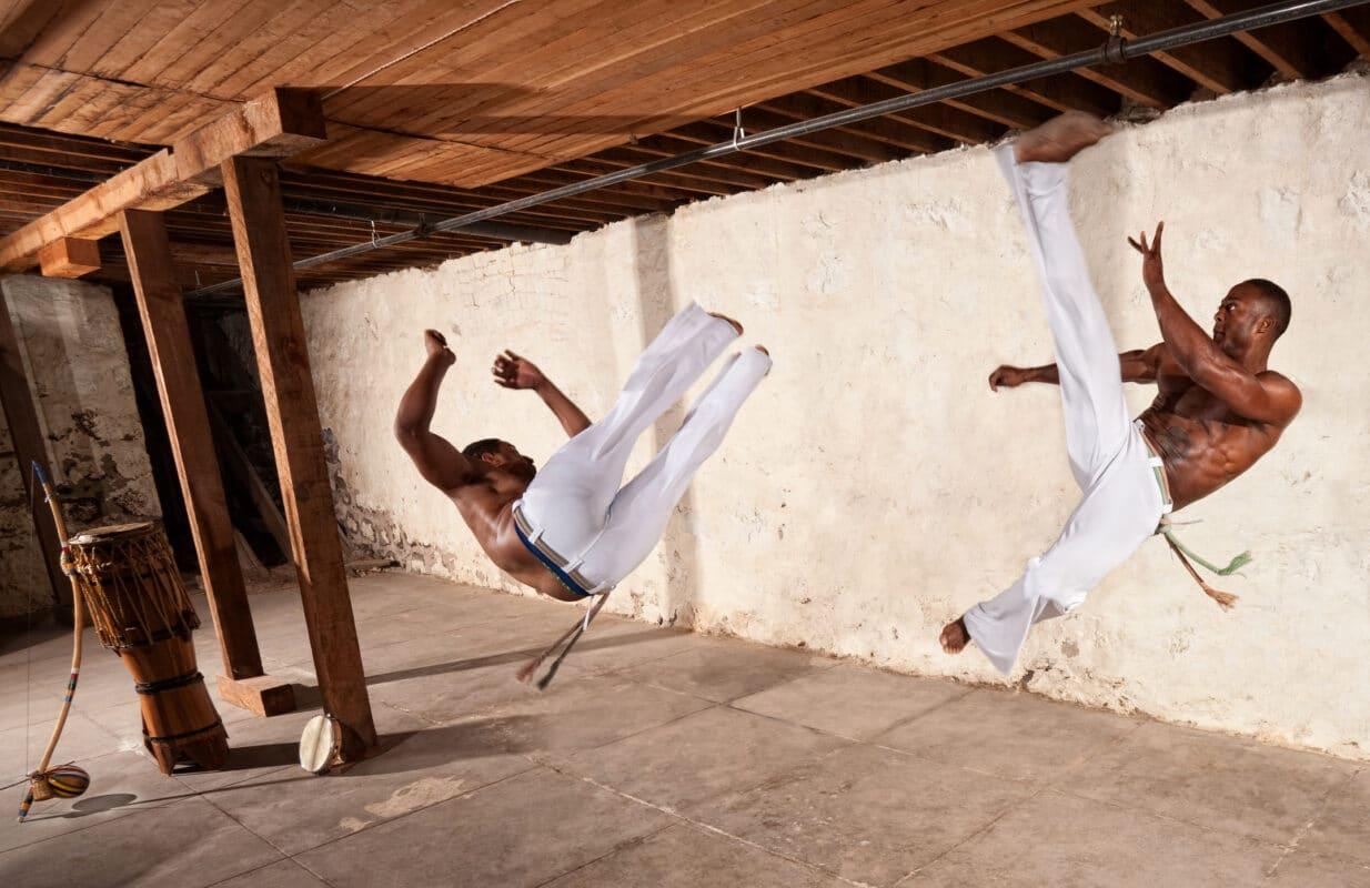 Visuel Capoeira Ginga Dans