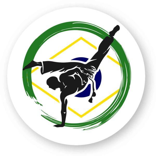 1 Sticker Roda Capoeira