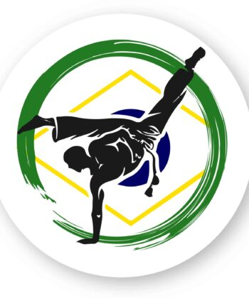 5 Stickers Roda capoeira