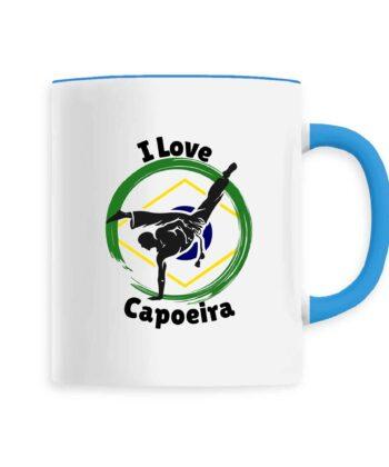 Mug Céramique - I Love Capoeira