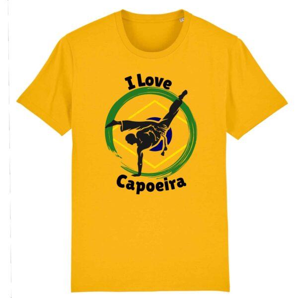 T-shirt Unisexe - Coton BIO - I Love Capoeira
